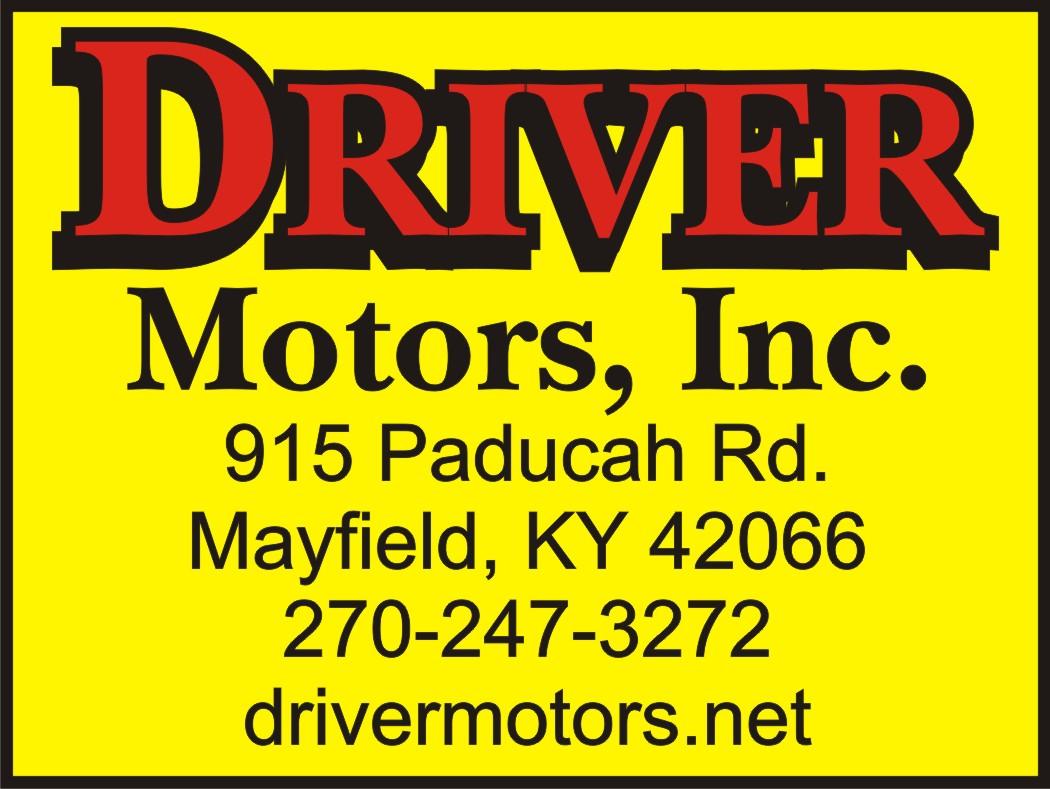 driver motors in mayfield kentucky